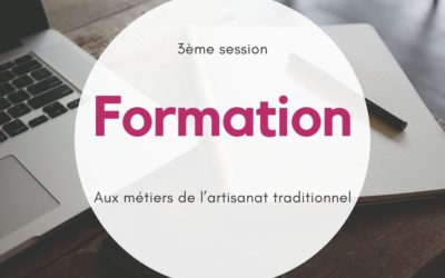 Inscription à la formation aux métiers de l'artisanat traditionnel