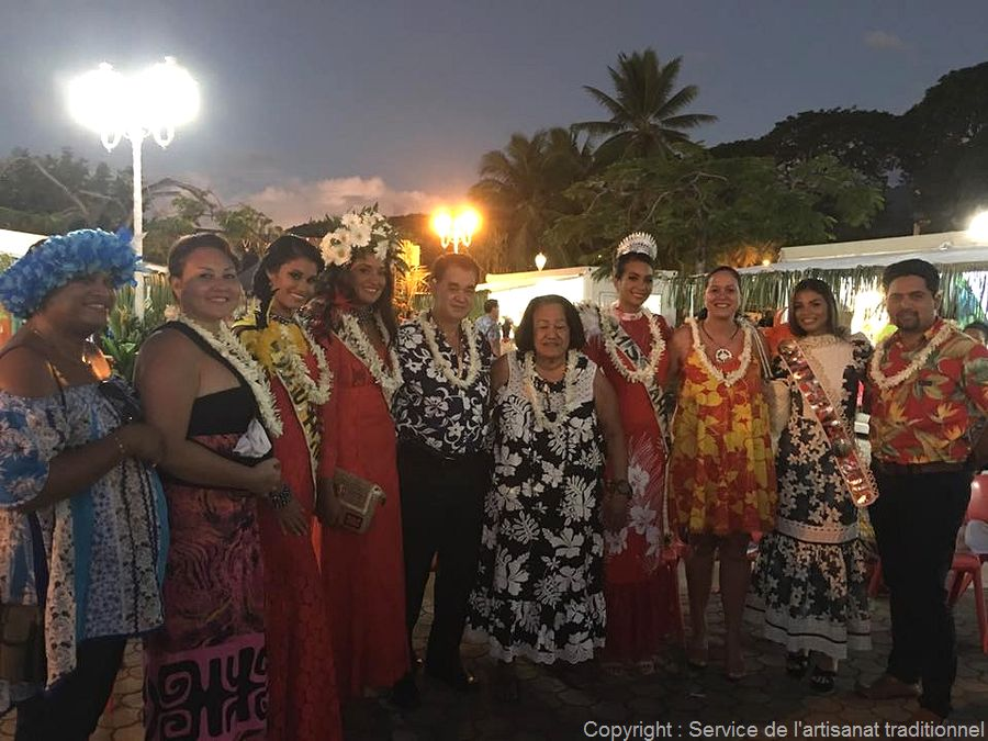 Inauguration du village Heiva I Tahiti à To'ata
