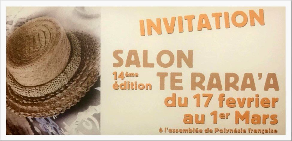 14e édition du salon « Te Rara'a »